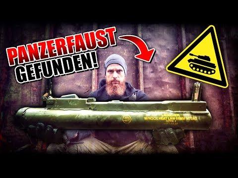 PANZERFAUST gefunden - Militär Schrottplatz mit Flak und Munition - LOST PLACES | Fritz Meinecke