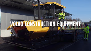 Volvo pavers P6820D P7820D: Intuitive operation