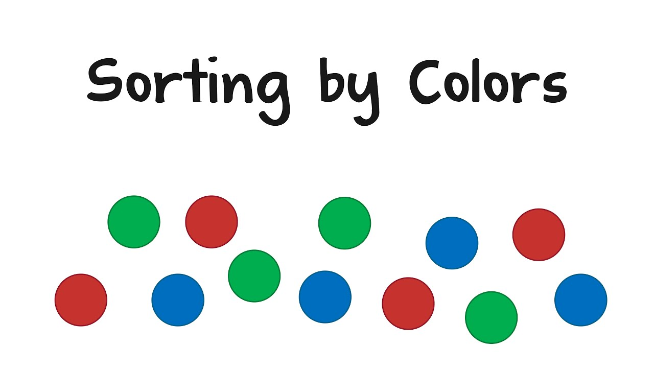 Sorting by Colors - YouTube