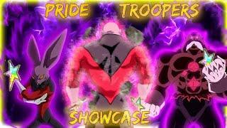 100% RAINBOW JIREN, GoD TOPPO, & DYSPO!!! PRIDE TROOPERS TEAM SHOWCASE! Dragon Ball Z Dokkan Battle