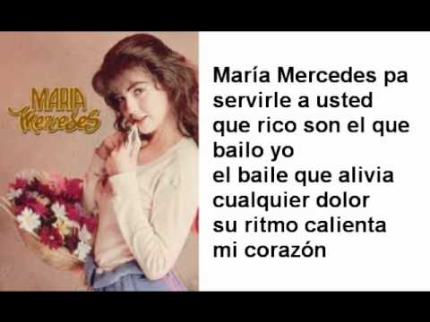 Maria mercedes lyrics youtube for Mercedes benz song lyrics
