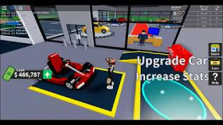 roblox playing with the new update and the new super kart