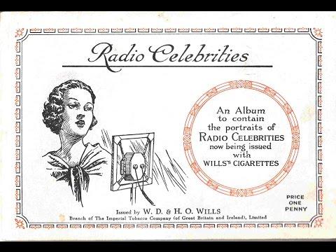 Radio Celebrities of the 1930s