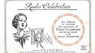 Radio Celebrities of the 1930s