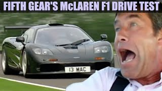 Fifth Gear's Legendary McLaren F1 Drive Test | Fifth Gear
