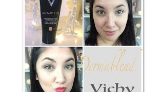 First Impressions Fond De Teint Dermablend Vichy Ultra Couvrant Youtube