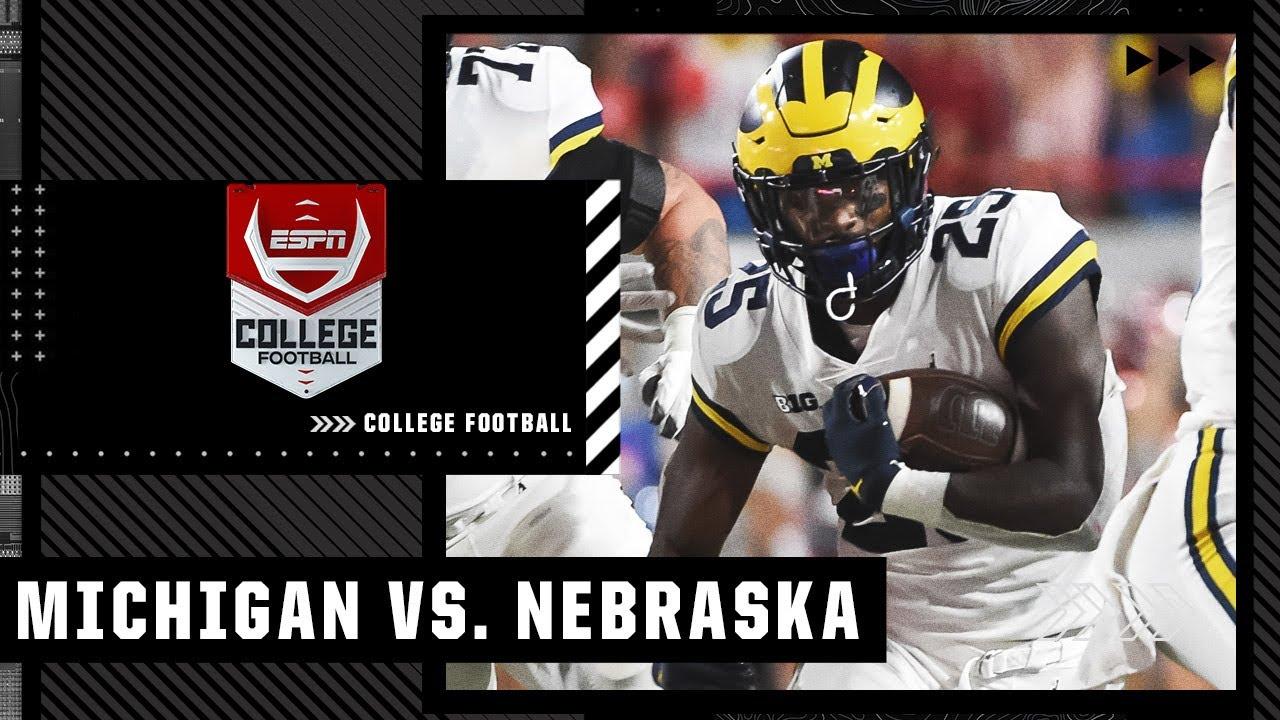 Michigan vs. Nebraska - Game Recap - October 9, 2021 - ESPN