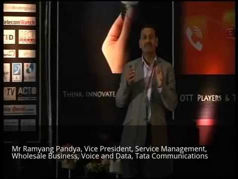 Mr Ramyang Pandya, Vice President, Voice and Data, Tata Communications, Communiqué13 @ SITM