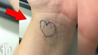 IF A CHILD HAS A HEART ON THEIR WRIST HERE