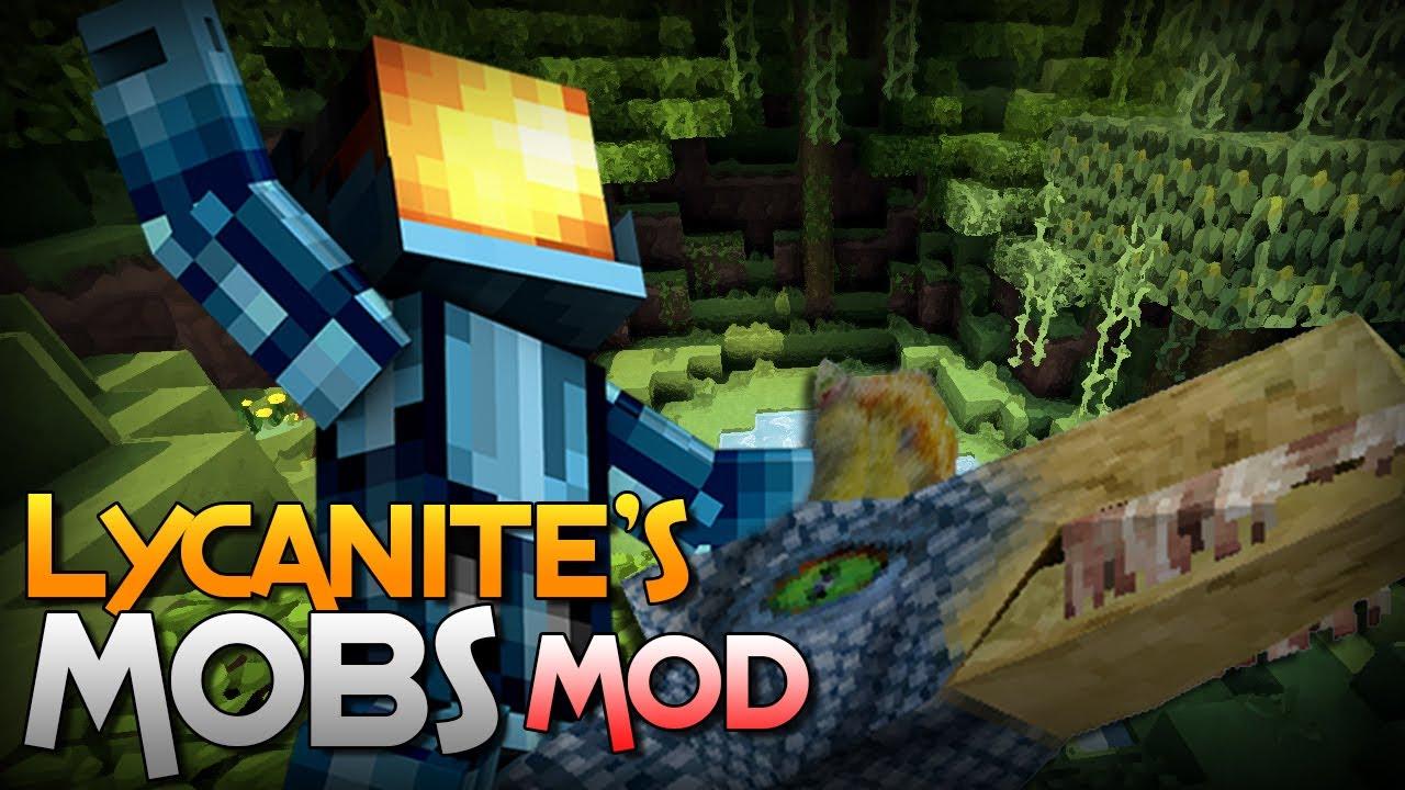 Скачать мод Lycanite's Mobs для Майнкрафт 1.9.4 бесплатно ...