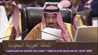الأخبار - الملك سلمان يدعو إلى حل سياسي في سوريا برعاية الأمم المتحدة