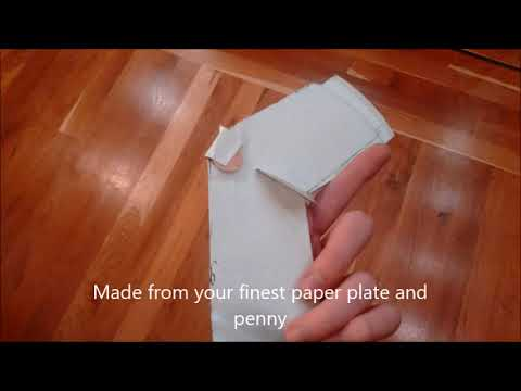 Paper Plate Airplane & Paper Plate Airplane - YouTube