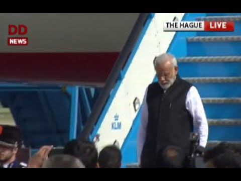 PM arrives in Netherlands on the last leg of his 3 nation tour