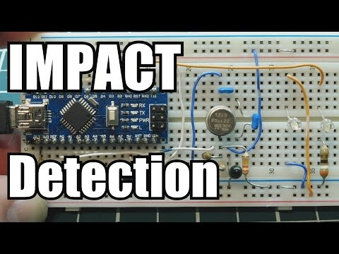 Impact Detection using an Accelerometer and other techniques