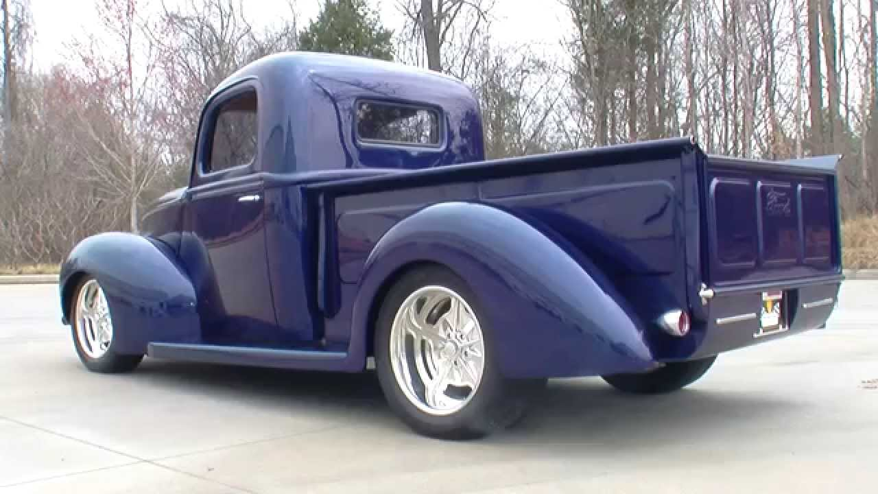 Craigslist Ford F100 For Sale >> 135101 / 1940 Ford Pickup - YouTube