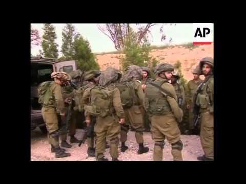 Israeli troops clash with militants inside Gaza Strip