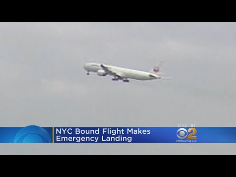 NYC-Bound Plane Makes Emergency Landing After Flame Shoots From Engine
