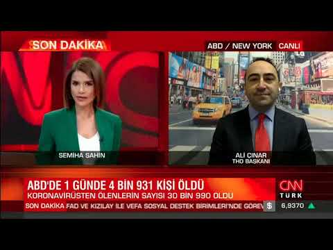 Ali Çınar Semiha Şahin'in konuğu - ABD'de koronavirüs kayıpları