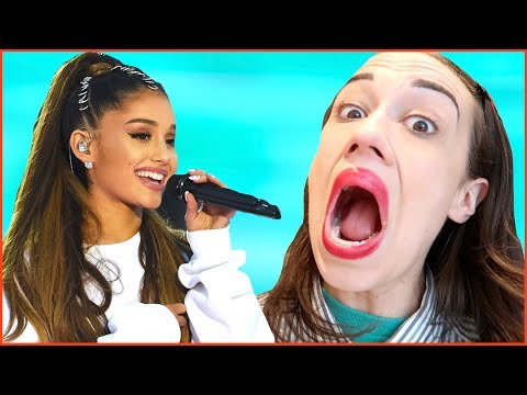 Giving Ariana Grande a Voice Lesson