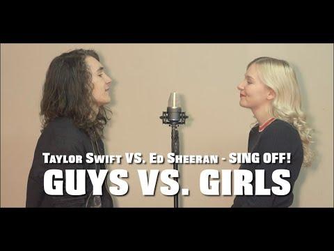 Ed Sheeran VS. Taylor Swift MASHUP - SING...