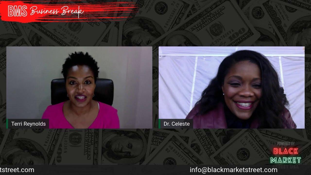 Black Market Street Business Break with Dr. Celeste Reese Willis