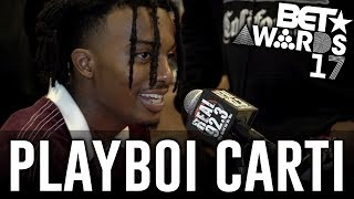 Playboi Carti in The BET Awards Radio Room w/ Dj A-Oh