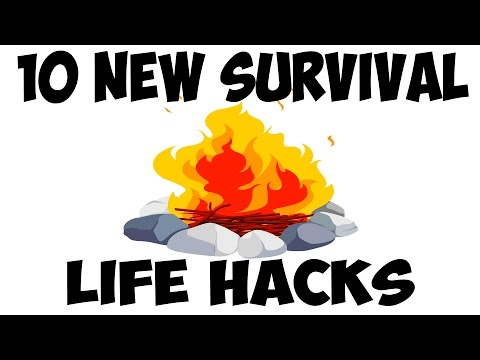 10  SURVIVAL LIFE HACKS Compilation