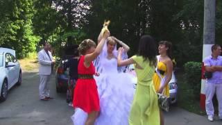 Танцуй пока молодая    Свадьба  Володи и Ольги  9 08 14