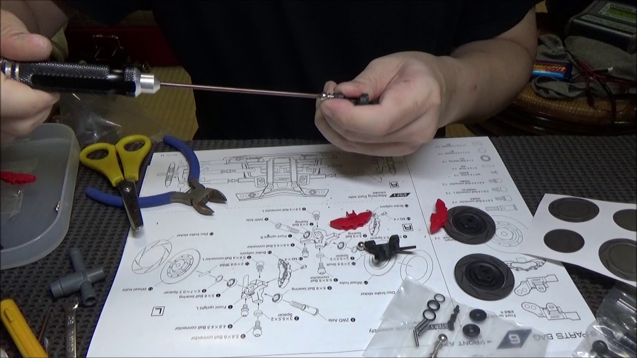 small resolution of rc drift mst rrx 2 0 build part 11