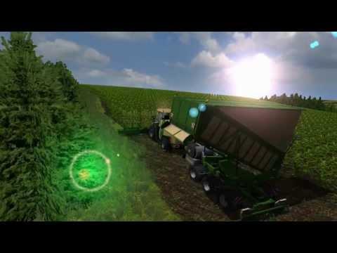 Maishackseln 2014 Krone Bigx 1100 & Fendt Traktoren - Farming Simulator 2013