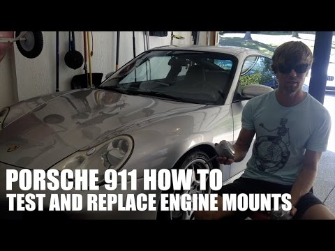 How To: Porsche 911 Engine Mount Test and Replacement
