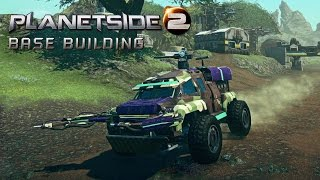 PlanetSide 2 (PC) Base Building Tutorial