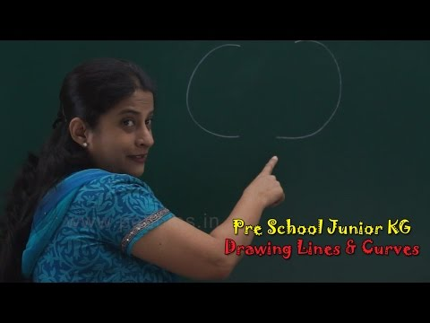 Draw Lines & Curves | Pre School Junior | Let's Learn Alphabets A To Z | Alphabets Train | ABC Song