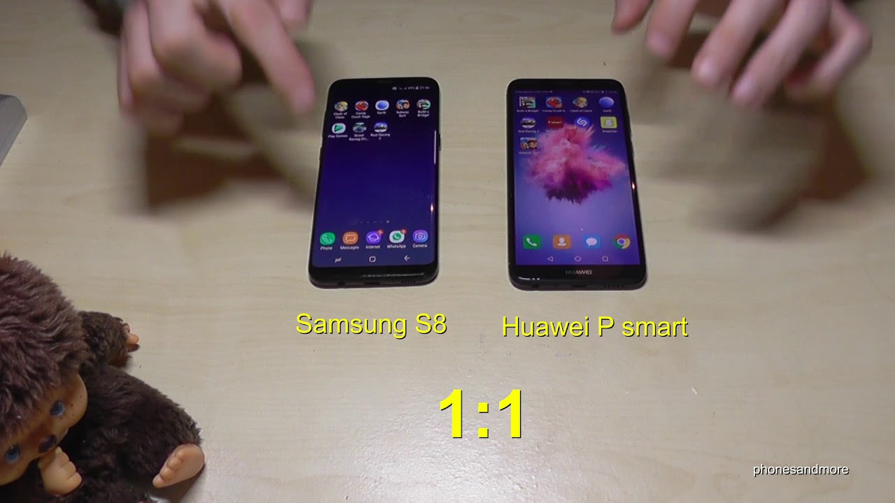 huawei p smart vs samsung galaxy s8 quick speed test. Black Bedroom Furniture Sets. Home Design Ideas