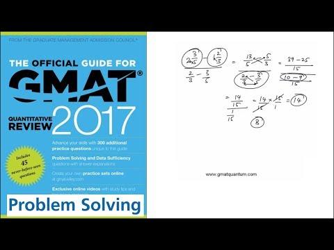 Q176 Problem Solving GMAT Quantitative Review 2017