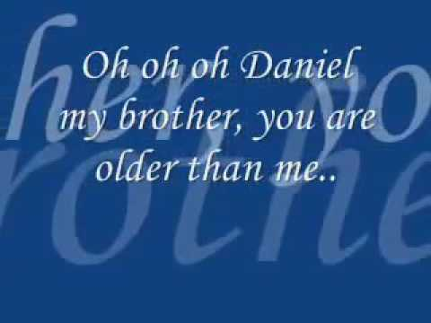 Elton John - Daniel [Videp lyric mp3]