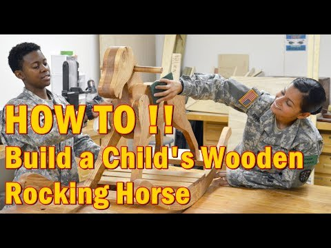 DIY & Crafts - How to Build a Child's Wooden Rocking Horse