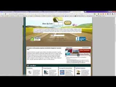 Compare Auto Insurance Quotes Online By Zip Code