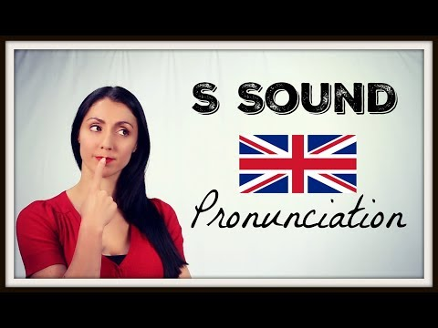 S SOUND - Learn BRITISH ENGLISH Pronunciation / Accent