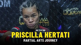 There Is No Stopping Priscilla Hertati   ONE Feature