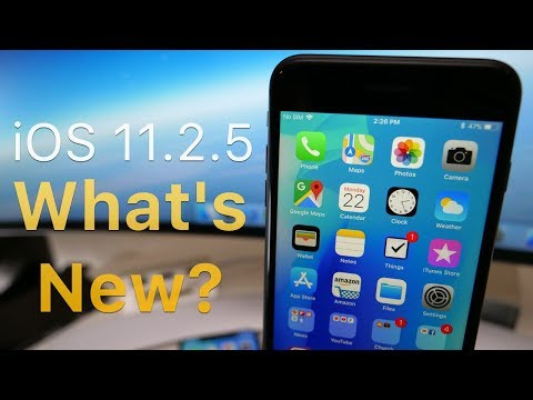 iOS 11.2.5 is Out! - What's New? (4K60P)
