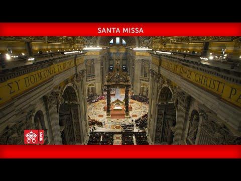 Santa Missa Na Solenidade Dos Santos Pedro E Paulo Apóstolos  29 Junho 2020 Papa Francisco