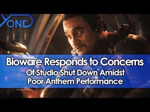 Bioware Responds to Concerns of Studio Shut Down Amidst Poor Anthem Performance