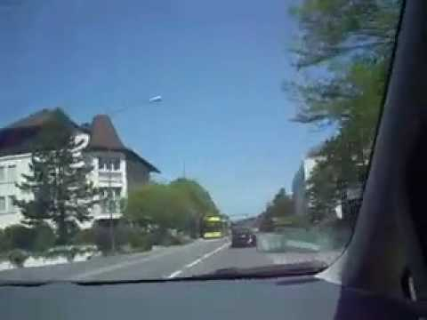 DRIVING THROUGH GERMAN VILLAGE AND VADUZ LIECHTENSTEIN