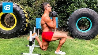 At Home Leg Workout from Hell | BJ Gaddour