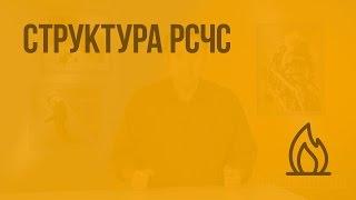 структура РСЧС. Видеоурок по ОБЖ 9 класс