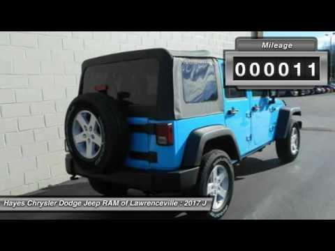 2017 jeep wrangler lawrenceville ga l736047 youtube. Black Bedroom Furniture Sets. Home Design Ideas