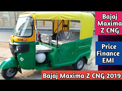 BAJAJ MAXIMA Z CNG 2019🔥Detail Review About Price Finance EMI