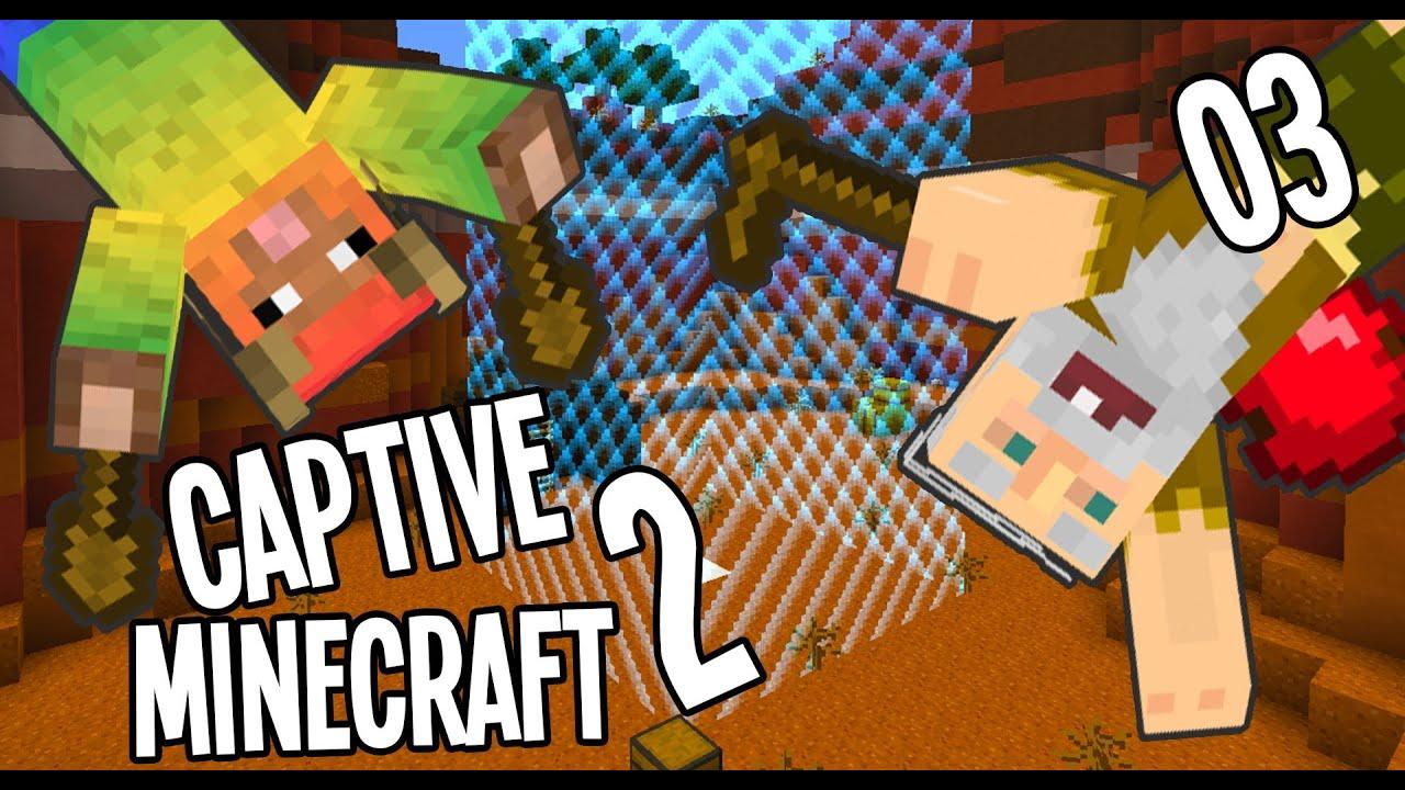 Minecraft Adventure Map: Captive Minecraft II w/ Millbee Ep03 -