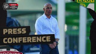 Press Conference - Toronto FC Head Coach Chris Armas